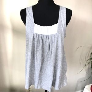 DKNY tank top with Lace front NWT